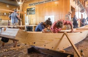 wooden boat builders